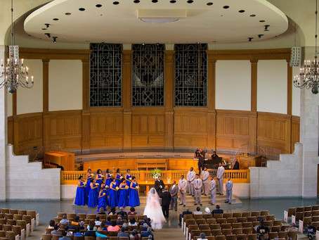Romantic Wake Forest Wait Chapel Wedding