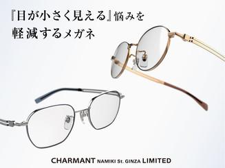 ー銀座ショップ限定ー 強度近視用メガネ