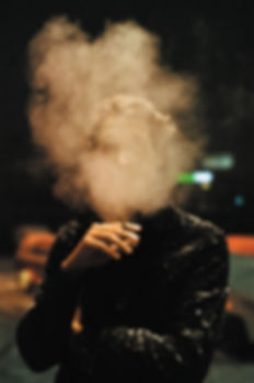 Brett Smoking by Michael Sisko for Aisli
