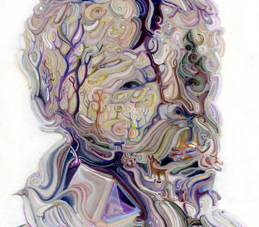 Self Portrait as a Windswept Campsite