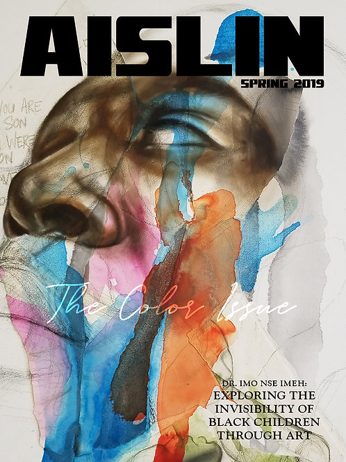 Aislin Magazine cover, Issue 005, Spring 2019