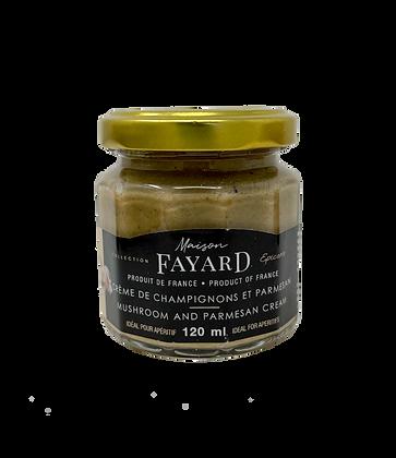 Crème de champignons et parmesan Maison Fayard 120 ml
