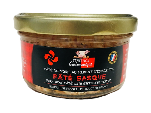 Pork Meat Pâté with Espelette Pepper 2 UNITS x 150g