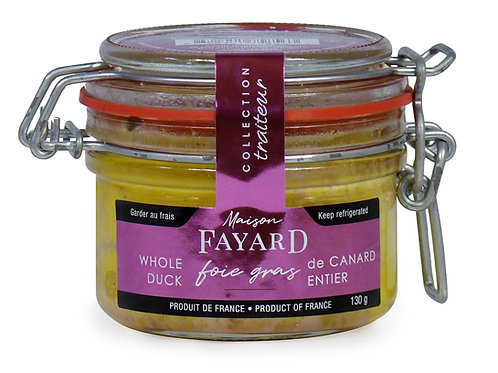 Whole Duck Foie Gras 130g - MAISON FAYARD