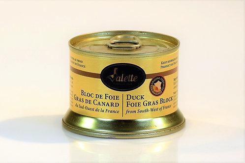Duck Foie Gras Block from Périgord 130g VALETTE