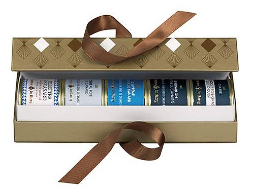 Duck Gift Box Collection 5 Duck Foie Gras terrines 70g - LA COMTESSE DU BARRY
