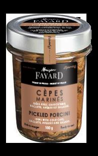 Pickled Porcini Maison Fayard 100g