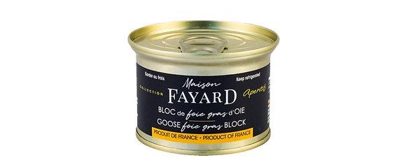 Bloc de foie gras d'oie Maison Fayard 12 x 130g