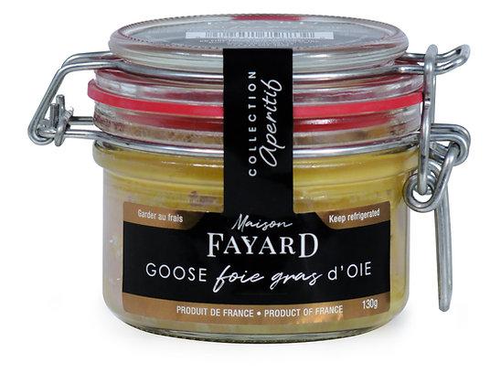 Goose foie gras block Maison Fayard 130g