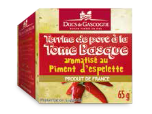 Terrine Potted Tome Basque 4 x 65g