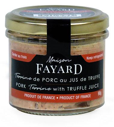 Pork terrine with truffle juice Maison Fayard 90g
