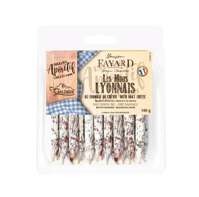 Minis Lyonnais with Goat Cheese Maison Fayard 100g