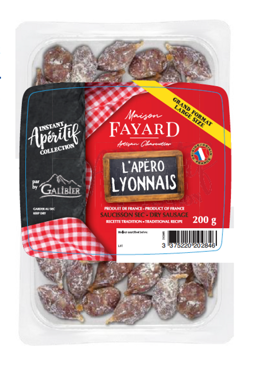 Sec / Dry Sausage Les Apéro Lyonnais 200g