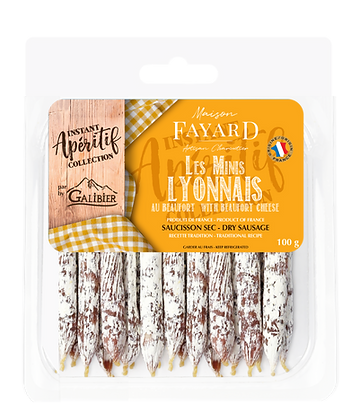 Minis Lyonnais Beaufort Cheese Maison Fayard 100g
