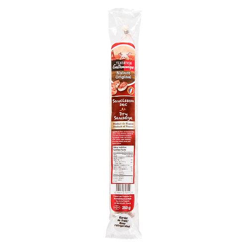 Saucisson Sec / Dry Sausage Original 250g - TENTATION GASTRONOMIQUE