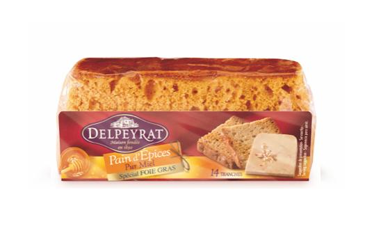 Gingerbread with Honey Delpeyrat 150g