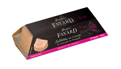 Rillettes de canard du Périgord au foie gras 110g