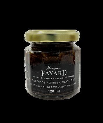 Tapenade d'olives noires originale Maison Fayard 120 ml