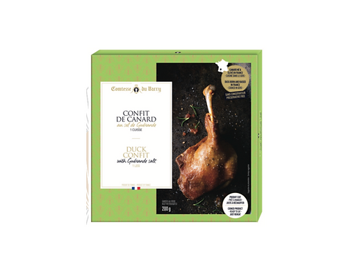 Duck Confit with Guérande Salt 200g