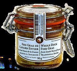 Foie gras de canard entier Valette 90g