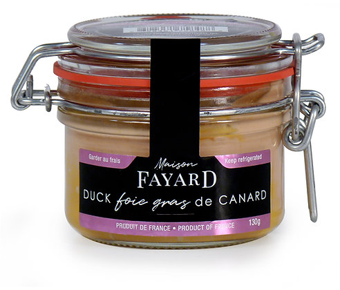 Duck foie gras block Maison Fayard 130g