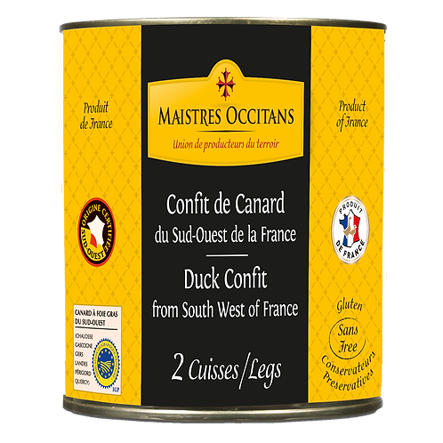 Duck Confit from South West of France 760g