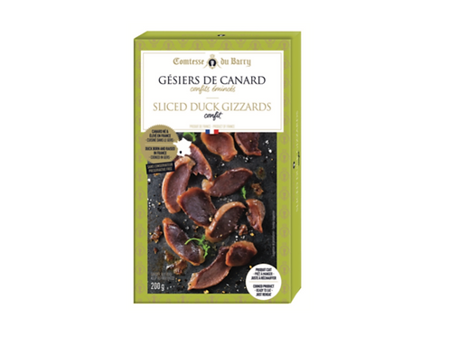 Sliced Duck Gizards confit 200g
