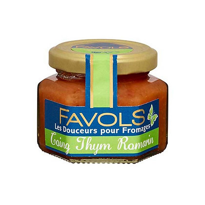 Quince thym and rosemary confit Favols 110g