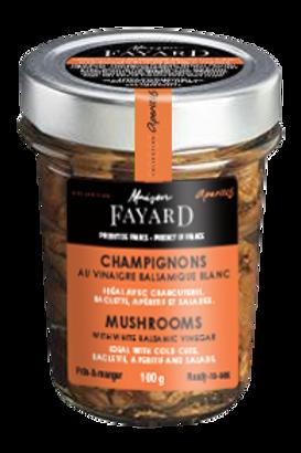 Mushrooms with White Balsamic Vinegar 100g