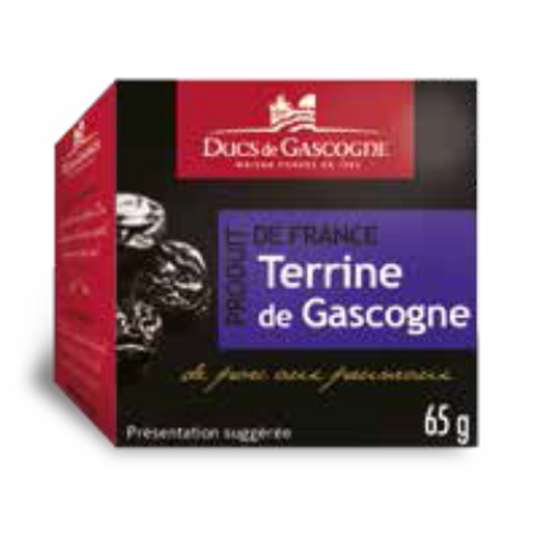 Gascony pate with prunes 4 x 65g