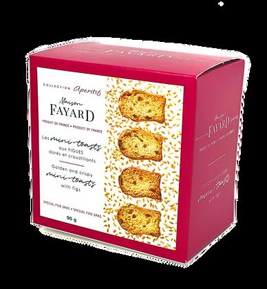 Mini-toasts with figs Maison Fayard 90g
