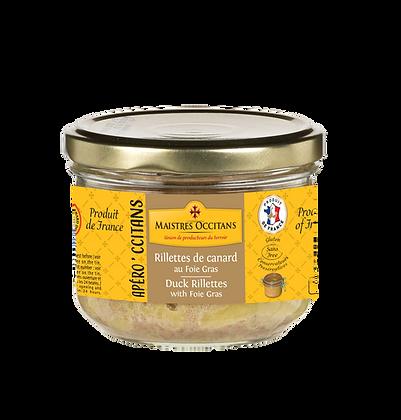 Duck rillettes with foie gras Maistres Occitans 180g