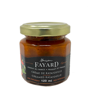 Creamed ratatouille Maison Fayard 120 ml