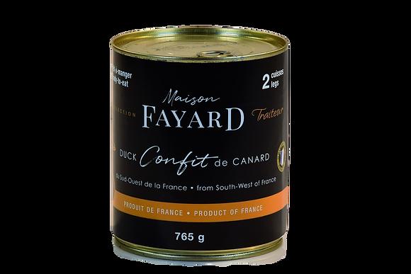 Confit de canard Maison Fayard 765g