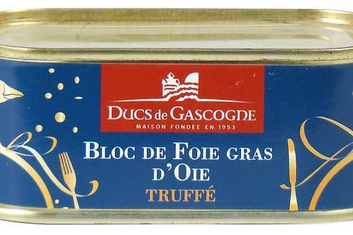 Goose Foie Gras Block with Truffles 100g - DUCS DE GASCOGNE