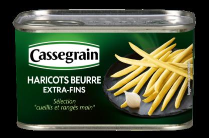 Buttered Green Beans Cassegrain 400g