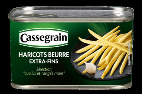 Buttered Green Beans / Haricots Beurre Cassegrain 400g