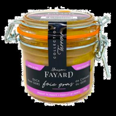 Duck Foie Gras Block 180g - MAISON FAYARD