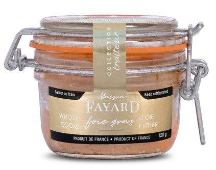 Foie gras d'oie entier Maison Fayard 120g