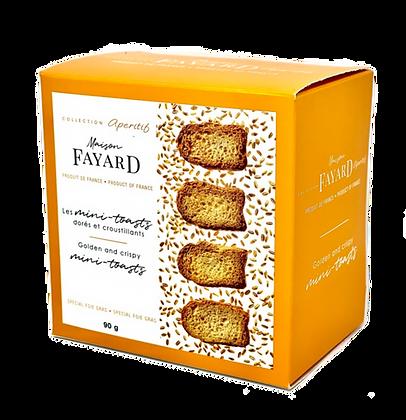 Minis-toasts Maison Fayard 90g