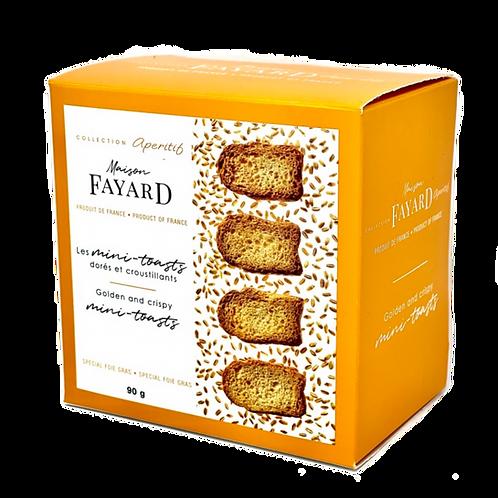 Mini-Toasts / Minis-toasts 90g - Maison Fayard