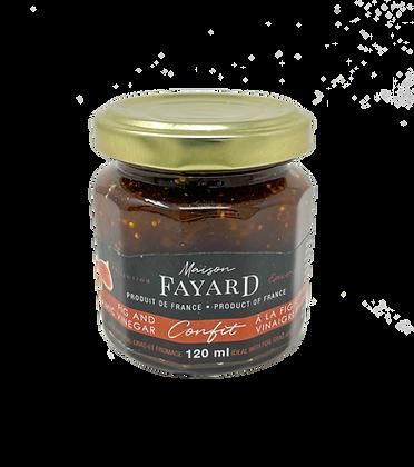 Figs confit with balsamic vinegar Maison Fayard
