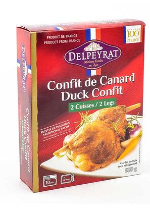 Confit de canard 2 cuisses Delpeyrat 8 x 550g