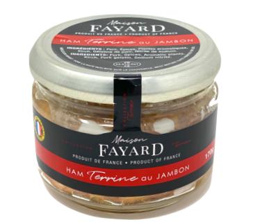 Terrine de jambon Maison Fayard 170g