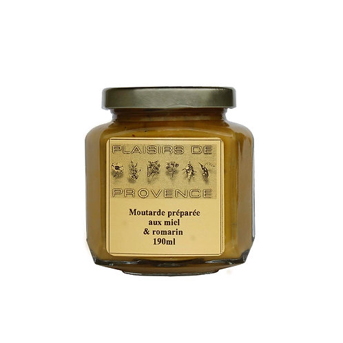 Moutarde au miel et romarin sauvage / Honey and Wild Rosemary Mustard 190g