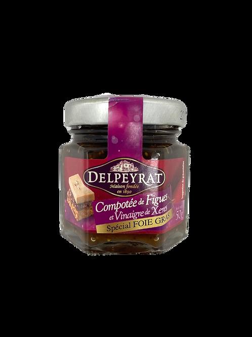 Figs confit with Xérès Vinegar / Compotée de Figues au Vinaigre de Xérès
