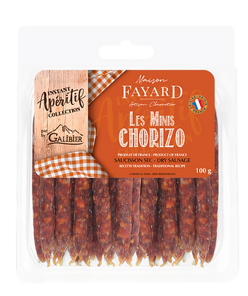 Minis Chorizo Maison Fayard 100g