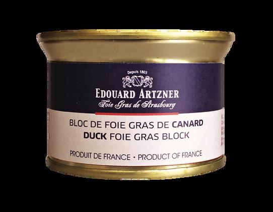 Duck foie gras block Edouard Artzner 130g