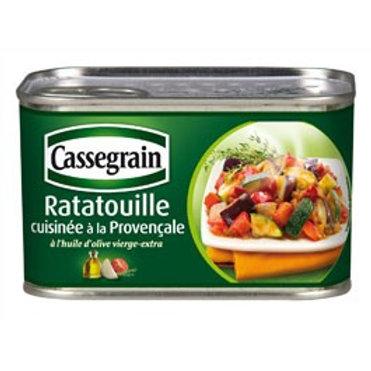 Ratatouille cuisinée / Ratatouille cooked 375g - CASSEGRAIN