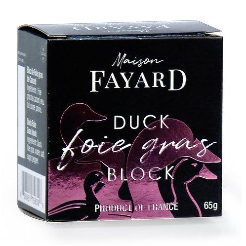 Duck Foie Gras Block 65g - MAISON FAYARD